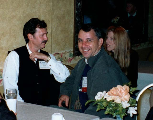 Don Terras with Cullen and Chris Chambers at 2001 Maritime Heritage Conference