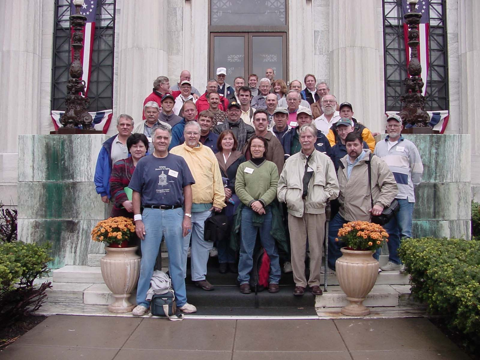 Participants in the 2002 lens workshop in Buffalo, New York