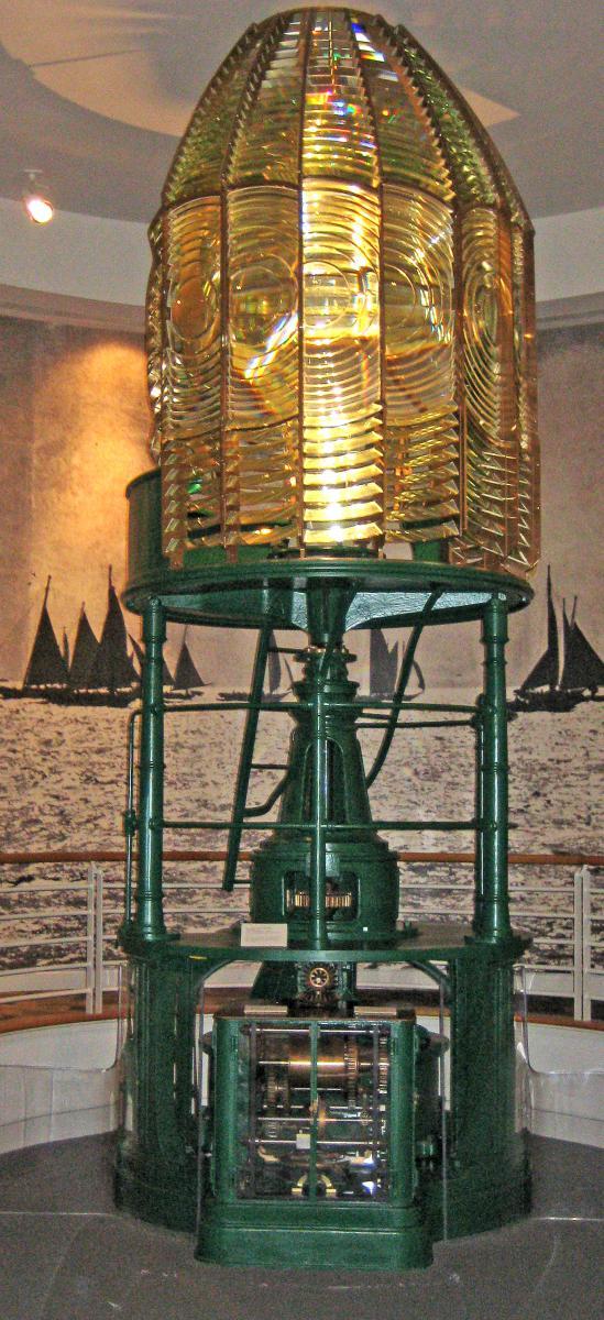 Lens Rotation By Thomas Tag Us Lighthouse Society