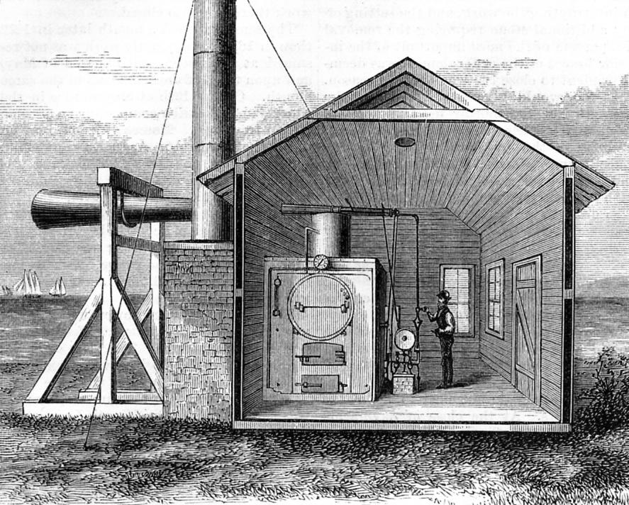 The History of Fog Signals by Wayne Wheeler   US Lighthouse Society