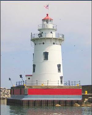 Harbor Beach Lighthouse Tour Michigan