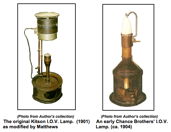 One Of These Lamps Was First Used In America In 1916 At The Cape Lookout  Lighthouse. Finally In 1921, David Hood Further Improved And Simplified The  Kitson ...