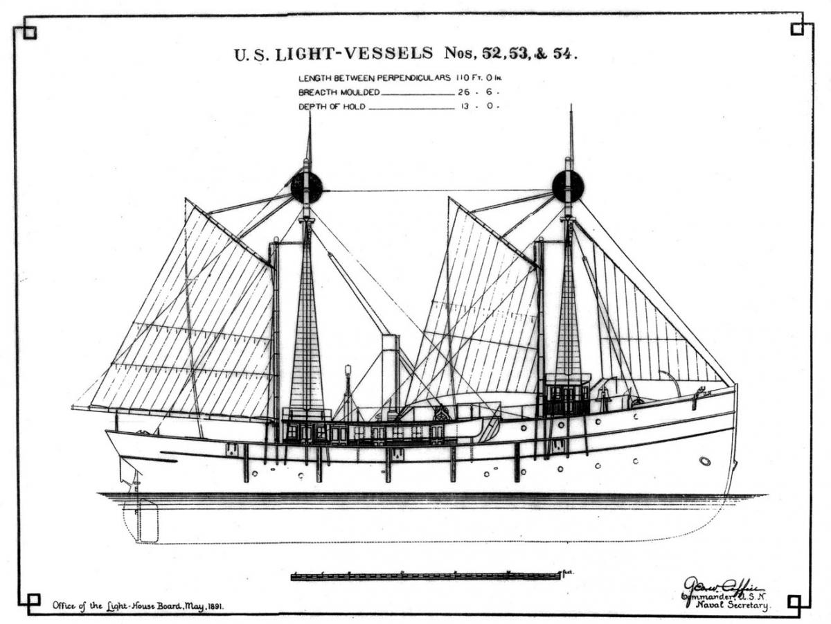 The Development Of The American Lightship By James Delgado
