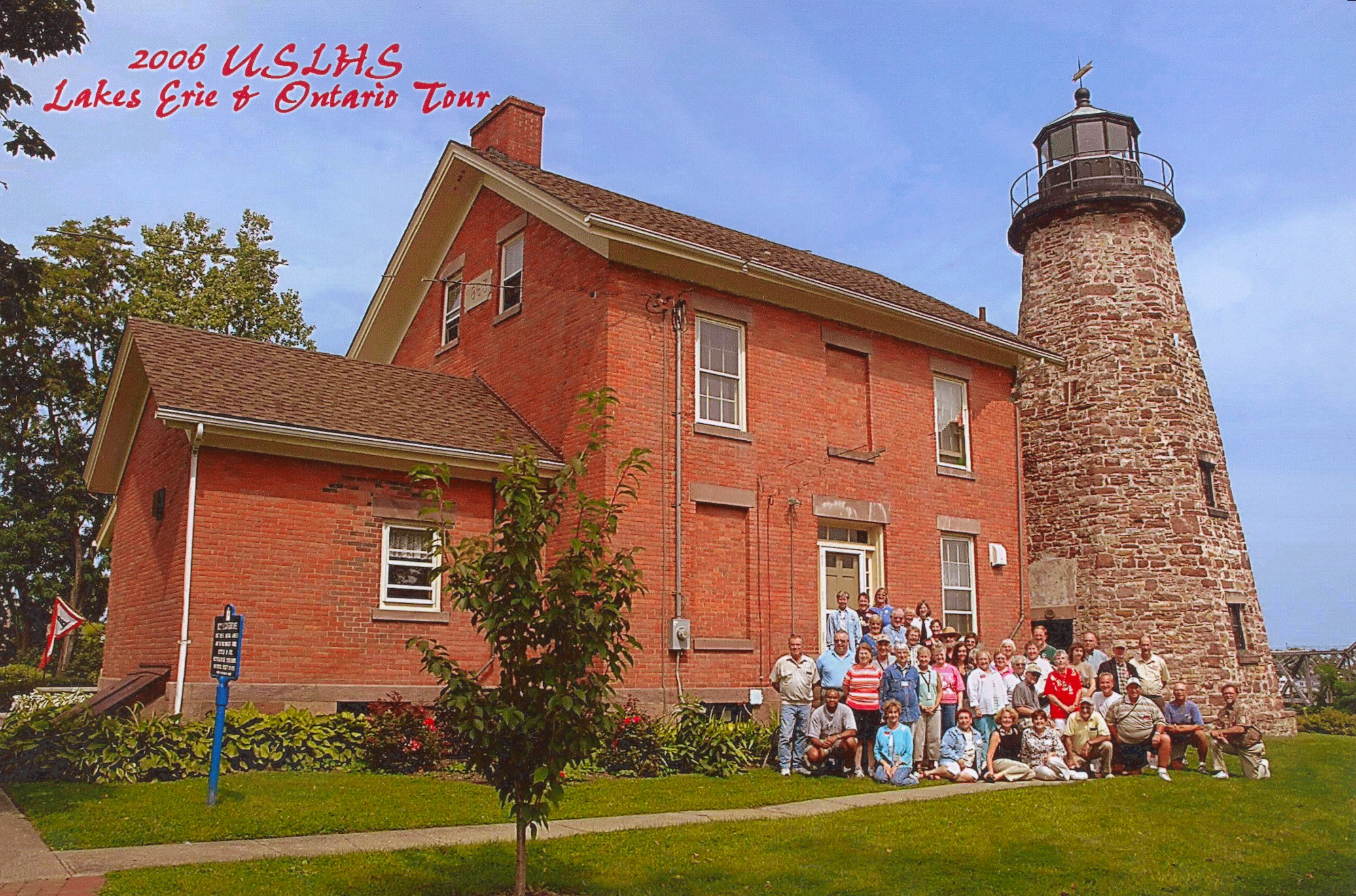 Charlotte Genesee Lighthouse: Lighthouse Tour Of Lake Erie 2006