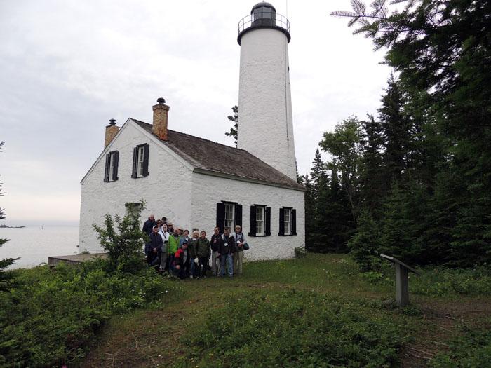 Lighthouse Tour Of Isle Royale 2013 Us Lighthouse Society