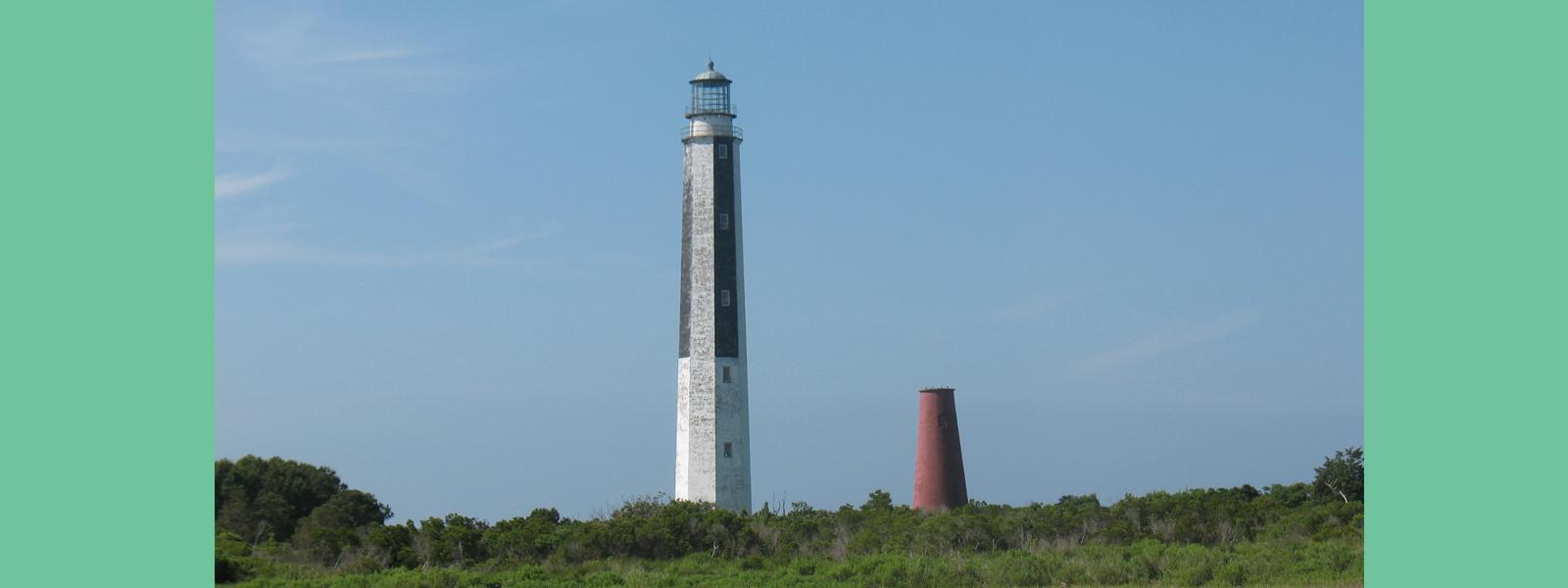 Cape Romain New & Old Lighthouses