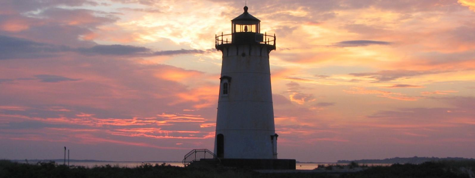 Edgartown Lighthouse at Sunset