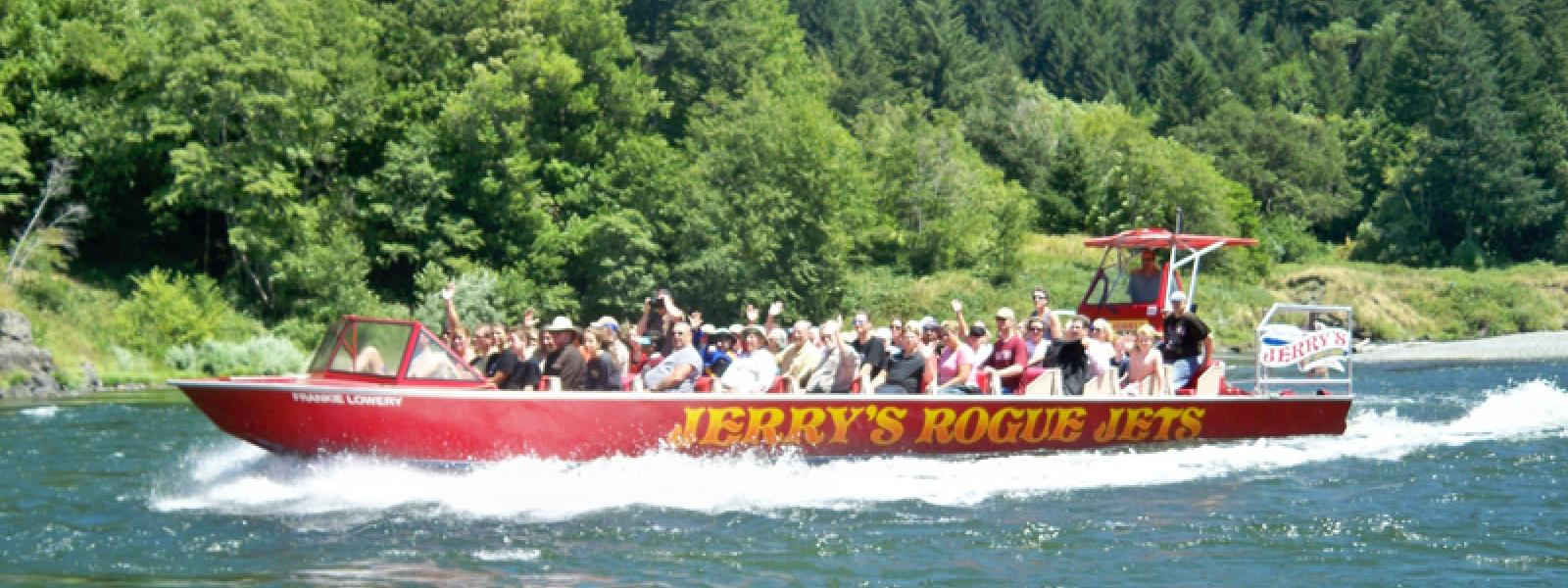 Jerry's Jet River Boat Ride