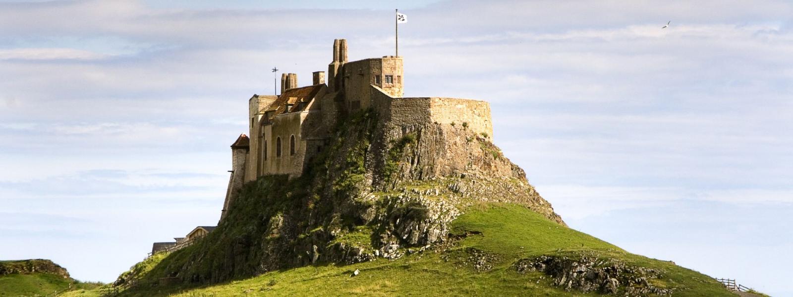 Lindisfarne Castle, Holy Island, England