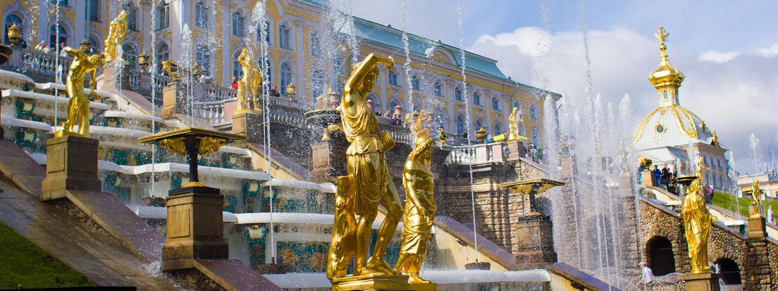 Summer Palace at St. Petersburg