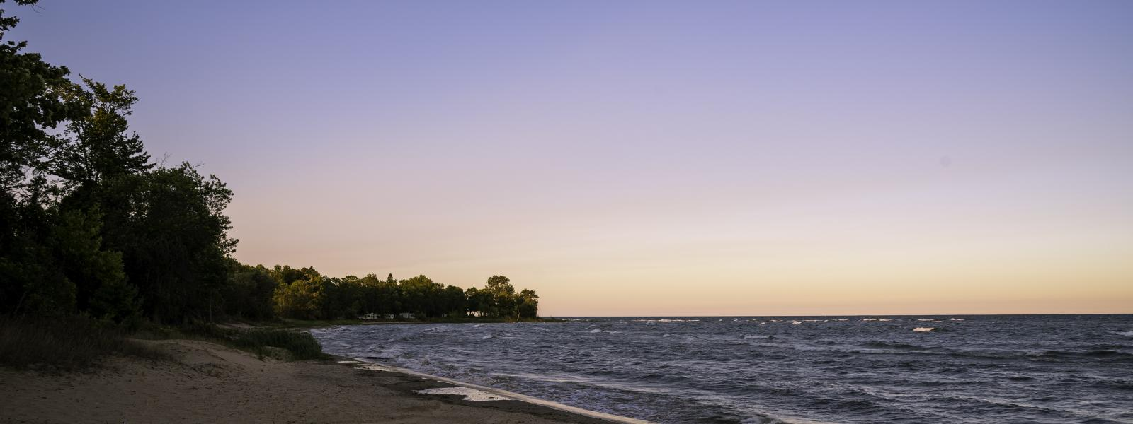 Shoreline of Lake Michigan
