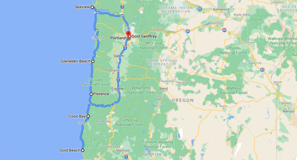 Oregon Tour