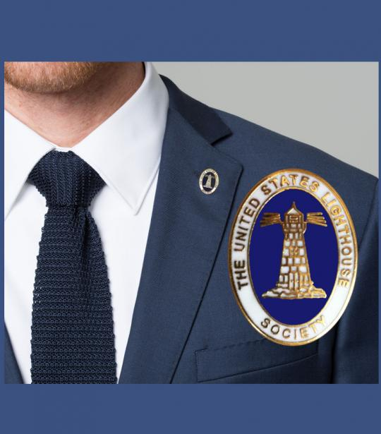 Offficial USLHS Lapel Pin | US Lighthouse Society