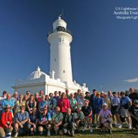 Our group photo taken at Macquarie Lighthouse courtesy of Handsome Phil.