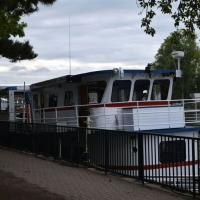 Our first boat trip in Buffalo Harbor was on the Miss Buffalo