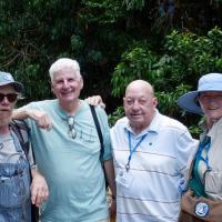 Handsome Phil, Glen, Don & Mary explore the wildlife sanctuary.