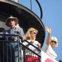 Bob, Kathy and Malea at Cape St Blas