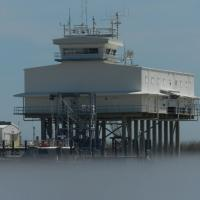 Mississippi River Control Tower for River Traffic
