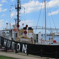 Lighthship Huron 103 is part of Port Huron Museum along with Fort Gratiot Lighthouse.
