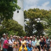 Group Photo at Key West Lighthouse