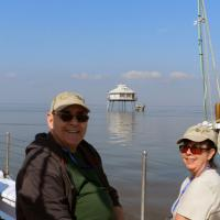 Allan, Sharon and the Middle Bay Lighthouse