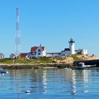 The weather and Eastern Point Lighthouse provided for a great photo opportunity