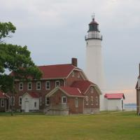 Fort Gratiot is now open to visitors after extensive renovations. Climbing the tower, the museum, and keeper's dwelling werea highlights of this day.