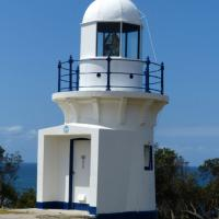 Ballina Head Lighthouse, one of five small towers along the northern NSW coast.