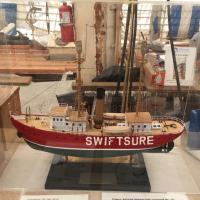 What the Swiftsure looked like before restoration