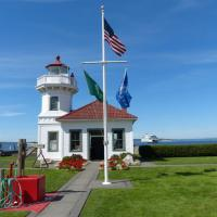 Mukilteo Lighthouse, one of Washington's most beautiful lighthouses