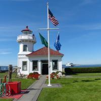 Mukilteo Lighthouse, one of Washington's most beautiful lighthouses