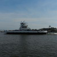 Ferry between Dauphin Island & Fort Morgan