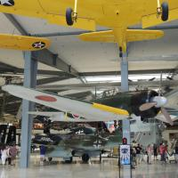 Just a few of the 150 planes on display at the museum