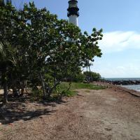 Cape Florida Lighthouse from the beach
