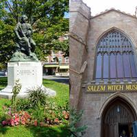 Salem seemed to be primarily about witches and Nathanial Hawthorne.