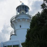 The lovely Sugarloaf Point Lighthouse was used on our tour patch.