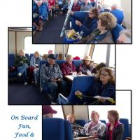 Holly wins a raffle and we all share a good time cruising around the San Juan Islands