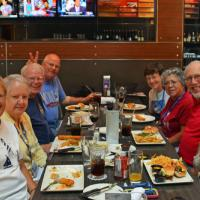 Fellow Society member and Australia tour survivor, Guy Stever, joined several folks on the tour to reminisce about adventures down under