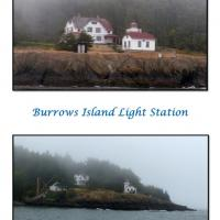 Burrows Island Light Station in the fog!