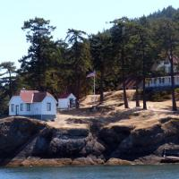 Turn Point Light Station on the northwestern corner of Stuart Island