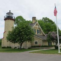 McGulpin Point was in operation for only 36 years.  It was discontinued in 1906 when Old Mackinac Point was established.  McGulpin Point has been completely renovated.