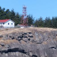 East Point Light on Saturna Island in the southern Gulf Islands of British Columbia