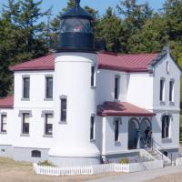 Admiralty Head Lighthouse at Fort Casey State Park on Whidbey Island