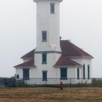 Point Wilson Lighthouse guides mariners in Admiralty Inlet and the Strait of Juan de Fuca