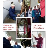 Always fun climbing the tower and checking out the beautiful Fresnel lens
