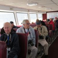 Port of Hope is one of the ferries operated by Shepler Ferry Line.  Several decks allowed everyone to choose their comfort level…until a lighthouse came into view and then everyone went to the top deck.