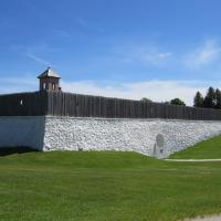 Historic Fort Mackinac was another site many visited on the island.