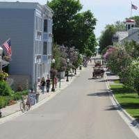 Streets of Mackinac island