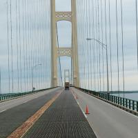 An early morning trip across the Mackinac Bridge took us into the upper peninsula of Michigan.