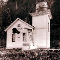 Gone but not forgotten: Slip Point Lighthouse around 1916 taken by P. Wischmeyer